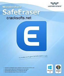 Wondershare SafeEraser 4.9.9.15 Crack + Key 2020 Full {Newest Version}